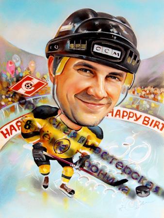 Что подарить хоккеисту на День рождения Новый год